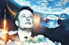 Elon Musk no mundo da Lua