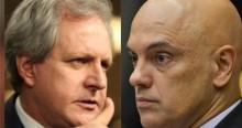 """Augusto Nunes ironiza Moraes, afirma que ministro inventou o """"flagrante perpétuo"""" e faz desafio (veja o vídeo)"""