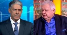 """Locutor diz que foi demitido da Globo por ser gordo: """"Até Bonner faz regime"""" (veja o vídeo)"""