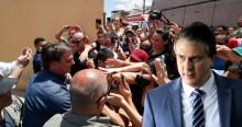 """Povo cearense clama """"Fora Camilo"""", durante visita de Bolsonaro ao Estado (veja o vídeo)"""
