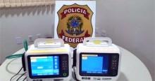 PF prende dois homens e recupera respiradores furtados da Santa Casa em MG