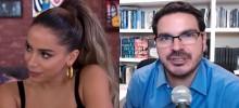 Anitta conta detalhes de sua tatuagem no ânus e Constantino não perdoa (veja o vídeo)