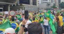 Avenida Paulista lota em manifestação contra Doria e a favor de Bolsonaro (veja o vídeo)