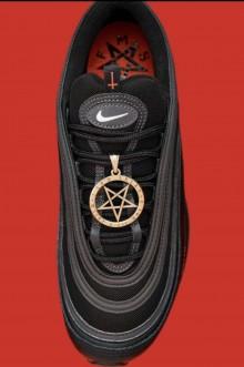 Marca famosa manda fazer 666 pares de tênis para homenagear o Diabo