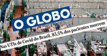 A foto e o título da capa de hoje de O Globo são graves desrespeitos à dor alheia: É estarrecedor, indigno, maligno...