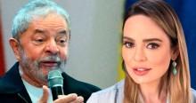 """Com """"enojante"""" euforia, Sheherazade enaltece entrevista de Lula: """"Épico!"""""""