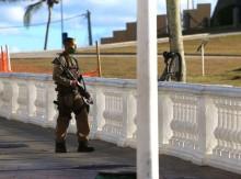 PMs de vários estados fazem protesto contra a morte do soldado Wesley (veja o vídeo)