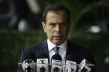 """Áudio de Doria vaza e revela politicagem e ameaça: """"Vou pegar esse chinês pelo pescoço"""" (veja o vídeo)"""