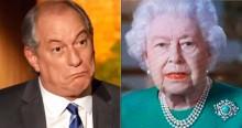 Ciro manda telegrama para rainha da Inglaterra e vira chacota na internet