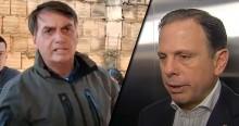 """Bolsonaro chama Doria de """"patife"""" e dispara: """"Nosso exército nunca irá à rua para forçar a ficar em casa"""" (veja o vídeo)"""