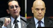 Kajuru pressiona STF e impetra mandado de segurança por impeachment de Moraes (veja o vídeo)