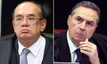 """Sessão do STF que decidiu pela suspeição de Moro termina com novo """"barraco"""" entre Gilmar e Barroso (veja o vídeo)"""