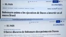 Bolsonaro divulgou erroneamente vídeo de 2019 sobre reportagem de jornal espanhol