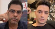 """Zezé Di Camargo detona Felipe Neto: """"Qual a experiência de vida desse pivete?"""""""