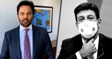 """Fábio Faria enquadra Mandetta: O senhor se considera """"genocida"""" por recomendar serviço de saúde apenas com """"falta de ar?"""" (veja o vídeo)"""