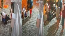 Assaltante tenta invadir condomínio e é imobilizado por moradores na Praia Grande, em SP (veja o vídeo)
