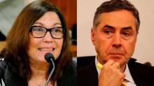 Destemida, Bia Kicis desafia Barroso para o debate (veja o vídeo)