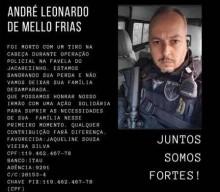 Enquanto extremistas preparam ato nacional pelos criminosos do Jacarezinho, colegas  fazem vaquinha para ajudar família do policial assassinado