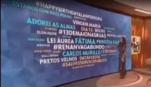 "Hashtag ""Renan Vagabundo"" é destaque até no programa de Fátima Bernardes (veja o vídeo)"