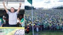 Diante de multidão na Esplanada, Bolsonaro faz discurso histórico (veja o vídeo)