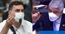 """Flávio cita o """"pixuleco"""" e Humberto Costa """"surta"""" em gritos (veja o vídeo)"""