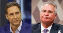 """""""CPI com Omar Aziz, Renan Calheiros, Humberto Costa... não tem como levar a sério"""", afirma Lacombe (veja o vídeo)"""