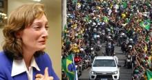 """Depois de ver a enorme popularidade de Bolsonaro, Rosário """"surta"""" novamente"""