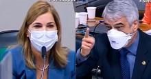 """AO VIVO: Despreparado, Humberto Costa tenta """"incriminar"""" Mayra e é novamente desmoralizado (veja o vídeo)"""
