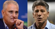 URGENTE: Caboclo promete troca de Tite por Renato Gaúcho na terça, diz jornalista