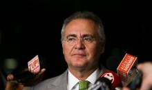 """Perdido, Renan mostra vídeos do povo vibrando com o presidente e dá tremendo """"tiro no pé"""" (veja o vídeo)"""