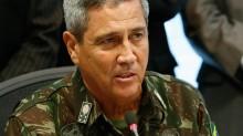 """Em tom sério, General Braga Netto ressalta a união das Forças Armadas: """"Disciplinadas para garantir a soberania e a liberdade"""""""