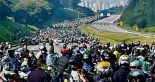 Recorde mundial? Guinness Book teria representantes em SP para acompanhar motociata de Bolsonaro (veja o vídeo)