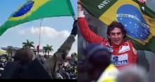 Bolsonaro emociona multidão ao fazer gesto semelhante ao de Ayrton Senna (veja o vídeo)