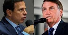 """Bolsonaro expõe """"sede de poder"""" de Doria e detona: """"Não consegue administrar o estado dele e quer comandar o país"""" (veja o vídeo)"""