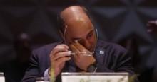 """Na CPI, Witzel """"choraminga"""" por ter sido chamado de """"estrume"""" por Bolsonaro (veja o vídeo)"""