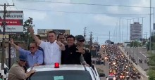 """No interior do PA, povo organiza """"motociata surpresa"""" em homenagem a Bolsonaro (veja o vídeo)"""