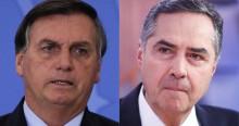 """Bolsonaro sobe o tom contra Barroso: """"Se o congresso aprovar, teremos voto auditável e ponto final"""" (veja o vídeo)"""