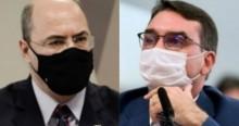 """Flávio Bolsonaro vai processar Witzel: """"Além de criminoso, é um grande mentiroso"""" (veja o vídeo)"""