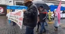 """Internauta tira onda de manifestação esquerdista e Bolsonaro repercute: """"Passeata foi com 6 pessoas e voltou com 4"""" (veja o vídeo)"""
