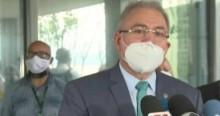 """Jornalista toma invertida de Queiroga: """"Eu falei em que idioma? Eu falei em português! Não foi comprado uma dose sequer da Covaxin"""" (veja o vídeo)"""