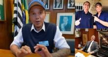 Netinho visita antigo gabinete de Bolsonaro na Câmara e se emociona: Nossa meta é reelegê-lo no ano que vem (veja o vídeo)