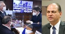 """Barros ironiza carta de Aziz a Bolsonaro e cobra publicamente o direito de depor em CPI: """"É uma fake news"""""""