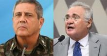 Calheiros diz que ministério da Defesa foi aparelhado e volta a atacar Forças Armadas