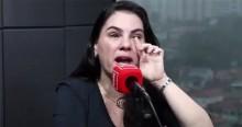Em momento de pura emoção, comentarista chora em programa ao vivo, ao falar da saúde de Bolsonaro (veja o vídeo)