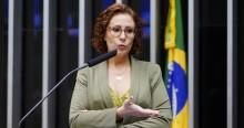 Carla Zambelli desmonta Fake News: Base do governo não foi favorável ao aumento do Fundão eleitoral (veja o vídeo)