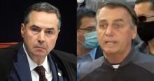 """Logo após receber alta, Bolsonaro não perde tempo e parte pra cima de Barroso: """"Faz ativismo contra o Voto Auditável"""" (veja o vídeo)"""