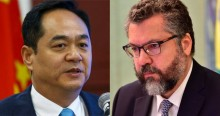Contra crença de brasileiros, embaixador da China desafia Deus e recebe sábia resposta de Ernesto Araújo