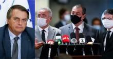 """Bolsonaro volta com tudo e ironiza CPI: """"Os três otários acabaram de inventar a corrupção por pensamento"""" (veja o vídeo)"""
