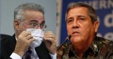 """Renan """"surta"""", pede exoneração de General Braga Netto e deixa escancarado seu """"medo"""" de militares (veja o vídeo)"""