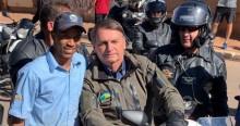 De moto nas comunidades de Brasília, Bolsonaro prova, de novo, sua gigantesca popularidade (veja o vídeo)